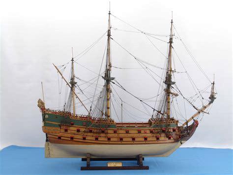 Wooden Warships Images - ship model wappen hamburg of 1669