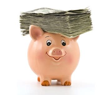 piggy bank with money your tab for unemployment to keep going up