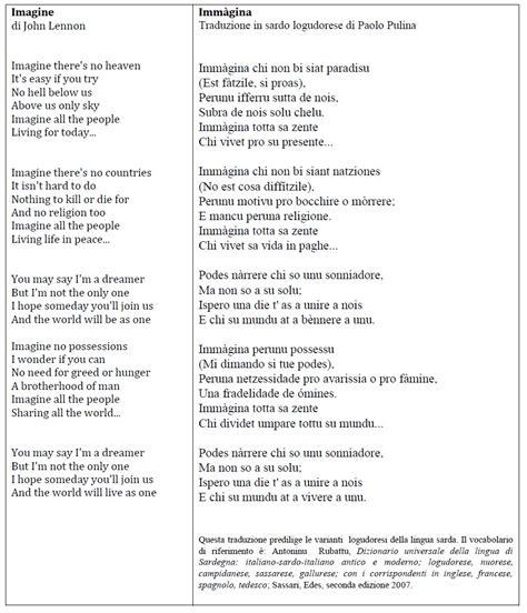 testo canzone imagine lennon mai avrei immaginato di tradurre imagine di lennon