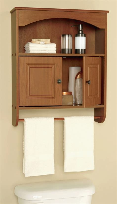 White Bathroom Cabinet With Towel Bar by Furniture Beautiful Wall Cabinet With Towel Bar White Wall