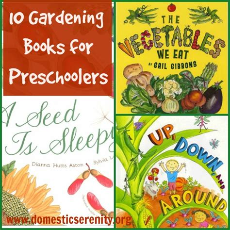planting gardens in books preschool garden book covers