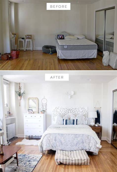 home decor before and after photos bedroom before and after bedroom makeover boho bedroom