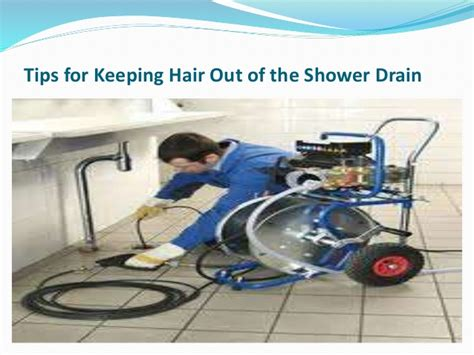 How To Get Hair Out Of Shower Drain by Tips For Keeping Hair Out Of The Shower Drain