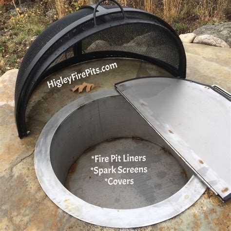 metal pit covers pit spark screens liners covers bowls grills www higleymetals rogers mn fabricates a