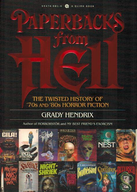 of the 70s books book review paperbacks from hell the twisted history of
