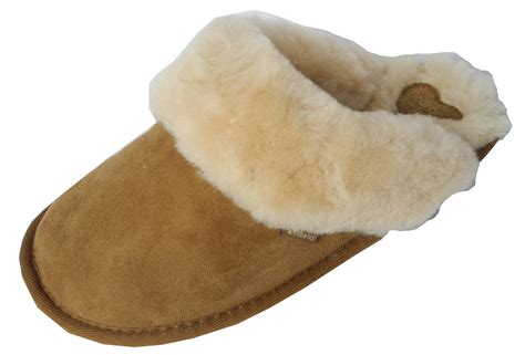 ladies bedroom slippers womens ladies bedroom athletics sheepskin suede mules
