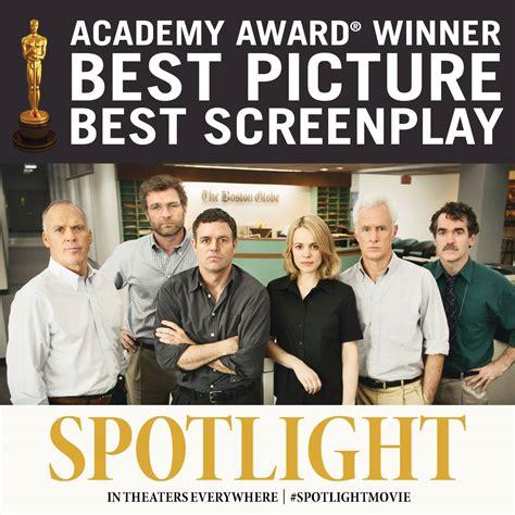 film spotlight oscar spotlight wins oscar for best picture spin vfx