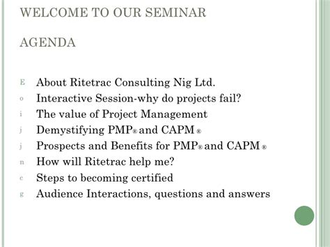 Can An Mba Help Me Become A Cfo by Project Management Career Seminar