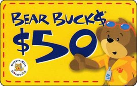 Build A Bear Gift Card Discount - gift card build a bear build a bear united states of america bear buck col us