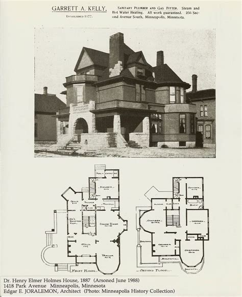 59 Best Images About 1870 1900 Romanesque Revival On 1900 Era House Plans