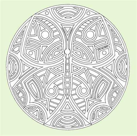 imagenes de mandalas mariposas mariposa mandala dibujalia dibujos para colorear
