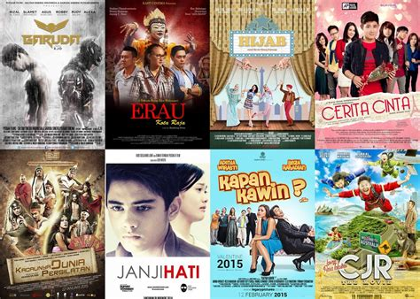 judul film box office 2016 film film indonesia rilis bioskop awal 2015 arie pinoci