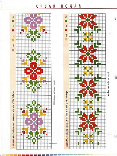 cenefas navideñas en crochet 1000 ideas about punto de cruz on pinterest crosses