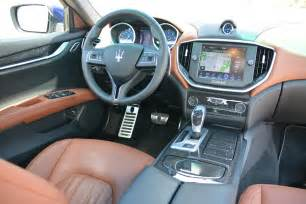 Maserati Ghibli S Q4 Interior Maserati Ghibli S Q4 Road Trip From Malibu To Palm