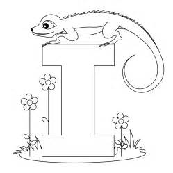 Coloring Pages Letter I letter i coloring pages to and print for free
