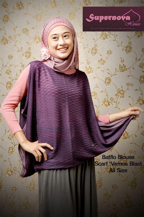 Terlaris Gamis Syari Vina Lavender Ungu Baju Gamis Pesta Mode Baju M batflo blouse ungu tua baju muslim gamis modern