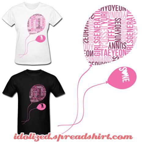 design t shirt kpop kpop snsd balloons shirt by idolizedtees on deviantart