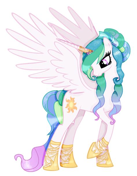 mlp princess celestia mlp princess celestia my style by cloudilicious on deviantart