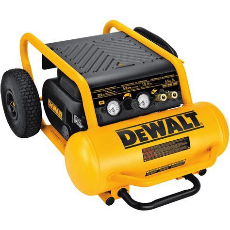 dewalt 4 5 gal portable electric air compressor d55146 the home depot