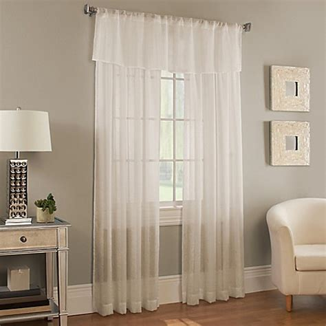 bed bath and beyond davenport davenport stripe window curtain panel and valance bed bath beyond