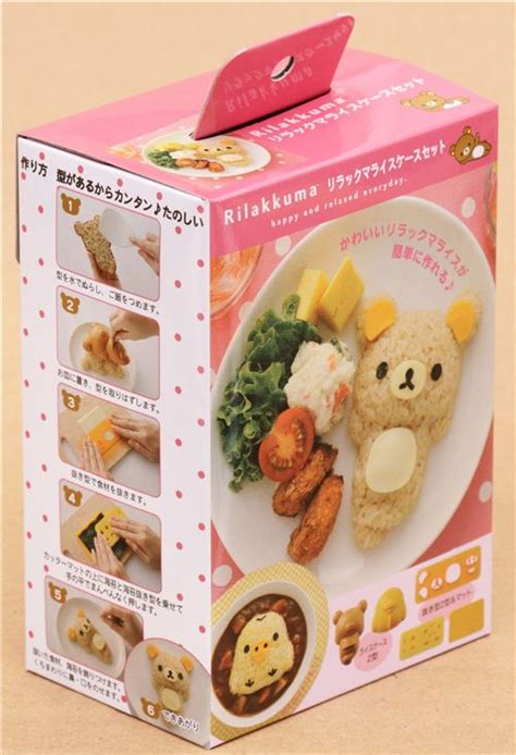 Rilakkuma Rice Set 30 rilakkuma and bento rice decoration set san x japan bento accessories bento boxes