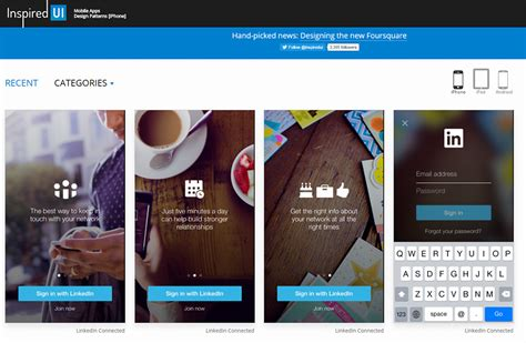 Ui Design Ideas by 10 Best Resources For Mobile App Design Inspiration