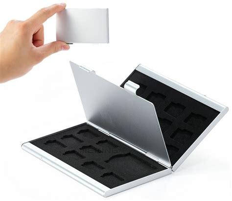 Memory Card Untuk Notebook metal 18 in 1 aluminium 16 micro sd 2 sd card storage