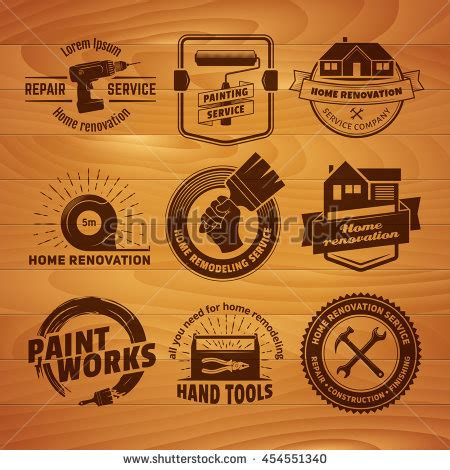 vintage logo generator stock vector image of brush paint brush logo stock images royalty free images
