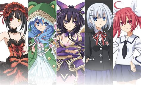 date a live characters with pictures