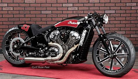 Indian Motorrad Custom by 1tomahawk Motorcycles As Indian Scout