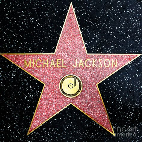 Hollywood Walk Of Fame Michael Jackson 5d28974 Photograph ... Hollywood Walk Of Fame Stars Michael Jackson
