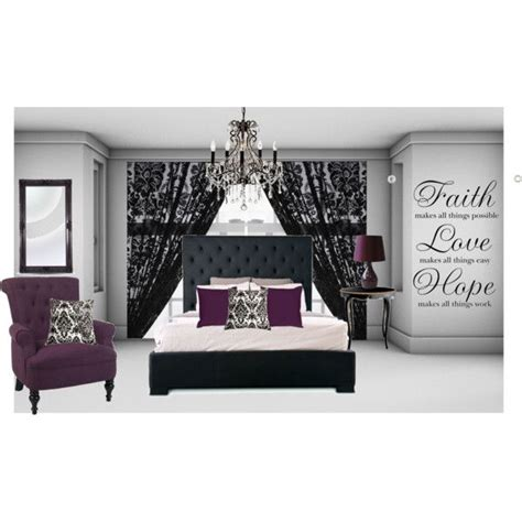 pink black white damask bedroom polyvore 1000 images about my cozy little home on pinterest
