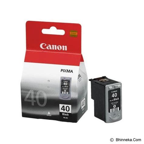 Tinta Printer Canon Inkjet Jual Canon Black Ink Cartridge Pg 40 Murah Bhinneka