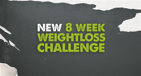 8 weeks challenge weight loss 8 week weight loss challenge gold s
