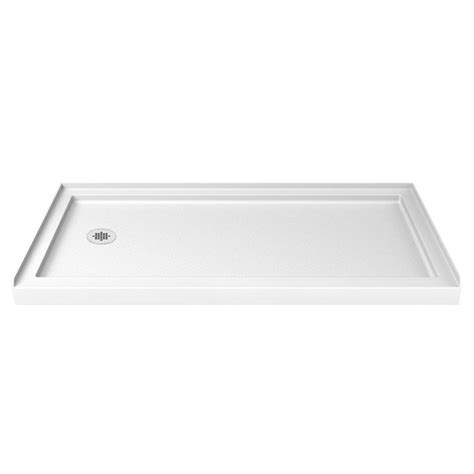 Shower Bases At Lowes by Shop Dreamline Slimline White Acrylic Shower Base Common