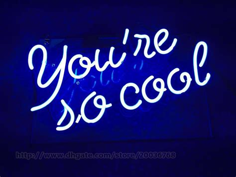 Online Shopping Home Decoration Items by 2018 You Re So Cool Neon Sign Home Art Decoration Pub