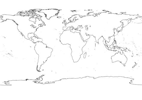 map world black outline black white world map julie outlines