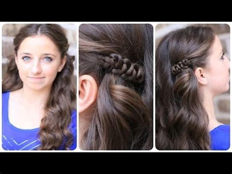 easy going out hairstyles youtube how to create a sides up slide up hairstyle easy