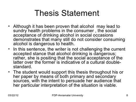 How To Make Thesis Statement For A Research Paper - how to write a research paper