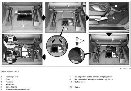 2007 mercedes benz gl450 battery location, 2007, free