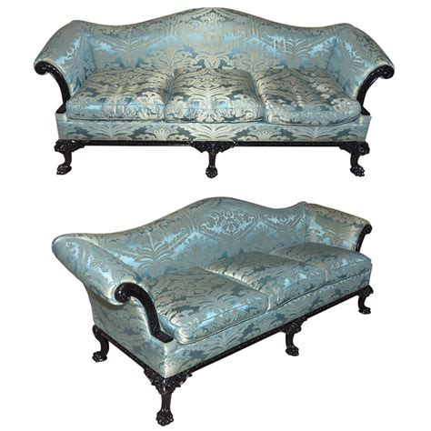 1980 s furniture two 1980s english regency style sofas at 1stdibs