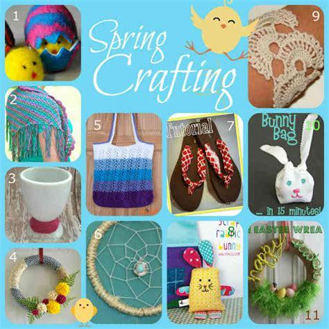 fabric crafts spring fabric and fiber crafts