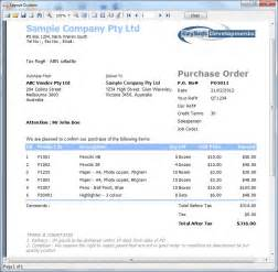 Purchasing Report Sample Sample Purchase Order What Is It How To Prepare It
