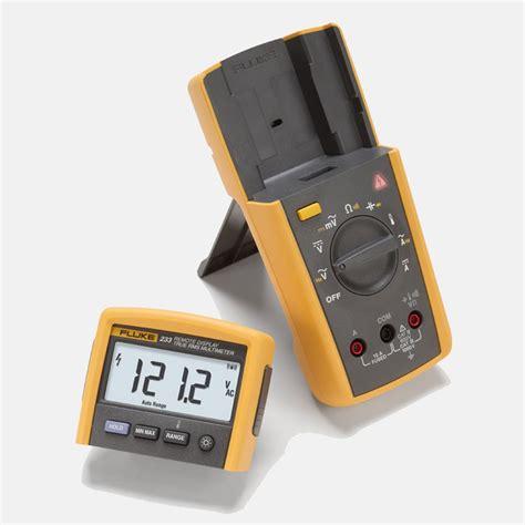 fluke 233 remote display digital multimeter mitchell instrument company