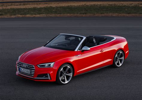 Audi Rs7 Cabrio by 2017 Audi A5 Cabriolet And 2017 Audi S5 Cabriolet