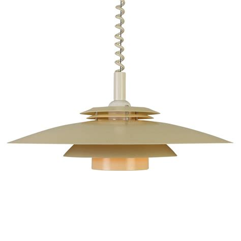 Ceiling Lights Pendant Multilayer Scandinavian Pendant Ceiling Light With Pull Wiring 1970s 1007