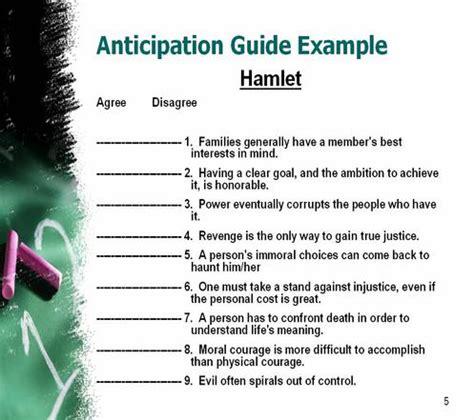 npformative anticipation guide exle