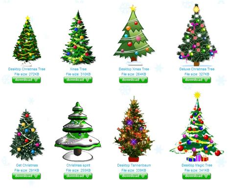 desktop christmas tree ghacks tech news