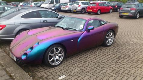 car that changes color tvr how this car changes color depending on how the