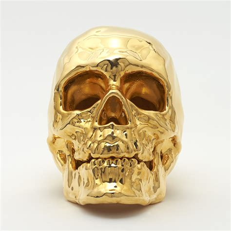 gold skull bad metal skulls